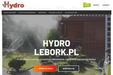 Hydro - Mycie elewacji Lębork
