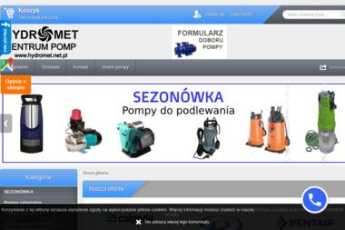 Hydromet - centrum pomp - Hydraulik Bielsko-Biała