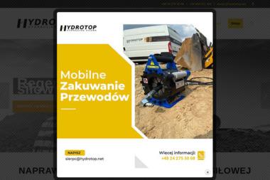 Hydrotop s.c. Hydraulika siłowa, oleje - Instalacje Sierpc
