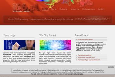 Studio i66. Strony www, projektowanie stron internetowych - Pozycjonowanie stron Ostrowiec Świętokrzyski