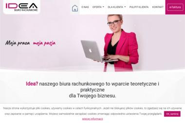 Idea Biuro Rachunkowe Agnieszka Bergolc-Sikorska - Prowadzenie Rachunkowości Mława