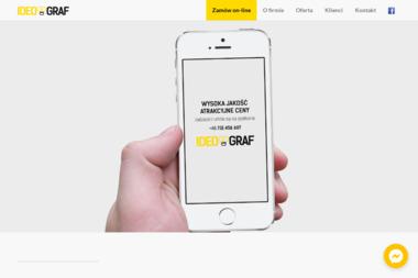Ideograf. Agencja reklamowa - Strony internetowe Ostrów Wielkopolski