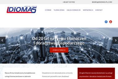 Idiomas. Języki obce - Tłumacz Języka Angielskiego Konarzewo