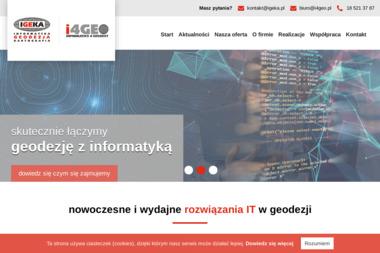 Igeka Usługi Geodezyjne i Informatyczne Daniel Jasiurkowski - Geodeta Stary Sącz