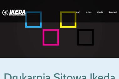 Drukarnia Sitowa IKEDA s.c. Marek Paterek i Grzegorz Lewandowsk - Drukarnia Stalowa Wola