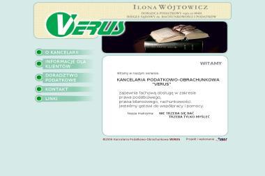 Kancelaria Podatkowo Obrachunkowa Verus Wójtowicz Ilona - Biuro rachunkowe Bobrowniki