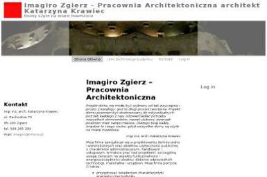 Imagiro Zgierz Pracownia Architektoniczna Mgr Inż Arch Katarzyna Krawiec - Projekty Domów Parterowych Zgierz