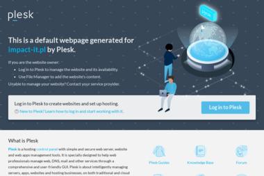 Impact IT Sp. z o.o. Cyfryzacja firm, sprzedaż komputerów, projekty graficzne - Graficy Stalowa Wola