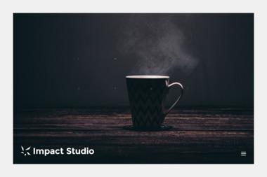 Impact Studio. Maciej Tkaczyk - Wizytówki Olsztyn