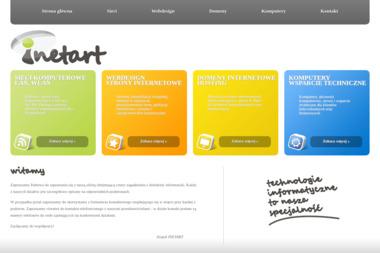 Inetart. Internet, strony www - Strony internetowe Paszkówka