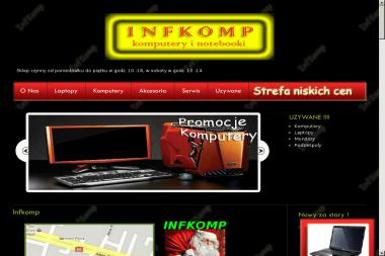 Infkomp - Firmy informatyczne i telekomunikacyjne Płock