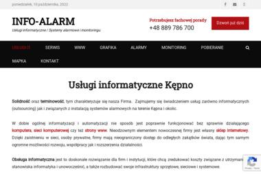INFO-ALARM - Agencja interaktywna Kępno