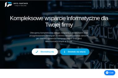 Info-partner - Strona www Tychy