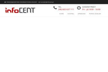 Przedsiębiorstwo Informatyczne Infocent-Jacek Królikowski. Strony www, hosting - E-marketing Strzelce Opolskie