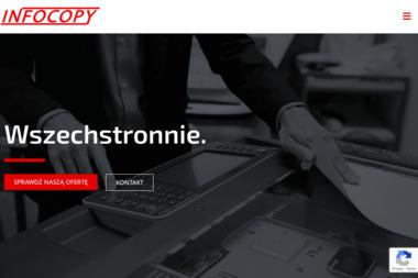 Infocopy. Alarmy, monitoring, systemy CCTV - Sprzedaż Kserokopiarek Zielona Góra