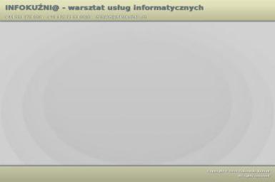 Infokuźni@ Żukrowski Konrad Warsztat Usług Informatycznych - Reklama Online Świnoujście