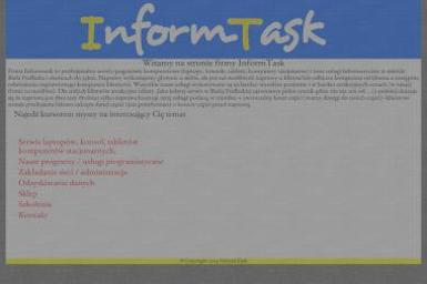InformTask. Serwis laptopów - Naprawa Komputerów Biała Podlaska