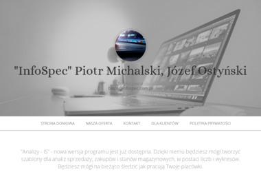 Infospec Piotr Michalski Józef Ostyński Spółka Jawna - Agencja interaktywna Świebodzice