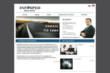 Infosped Adam Duda. Transport międzynarodowy, spedycja międzynarodowa - Firma transportowa Turów