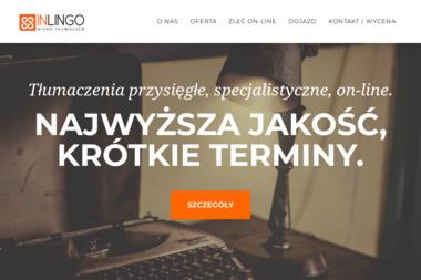 Inlingo. Biuro Tłumaczeń - Tłumacze Tczew