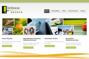 Insense Broker Sp. z o.o. Broker ubezpieczeniowy, ubezpieczenia firm - Ubezpieczenie firmy Łódź