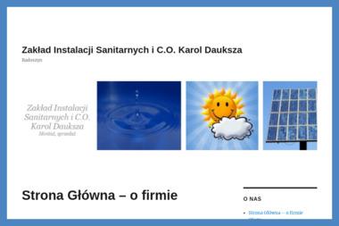 Zakład Instalacji Sanitarnych i C.O. Karol Dauksza - Instalatorzy CO Radoszyn