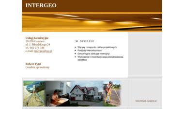 Intergeo Usługi Geodezyjne Robert Pytel - Geodeta Grajewo