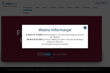 Przedsiębiorstwo Produkcyjno Usługowo Handlowe Interplus Mariusz Mrożek Rafał Woźniak Spółka Jawna - Webmasterzy Sosnowiec