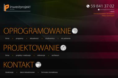 Inwestprojekt Słupsk - Projekty domów Słupsk