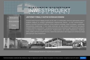 PRACOWNIA  PROJEKTOWA  INWESTPROJEKT - Projekty domów Sandomierz