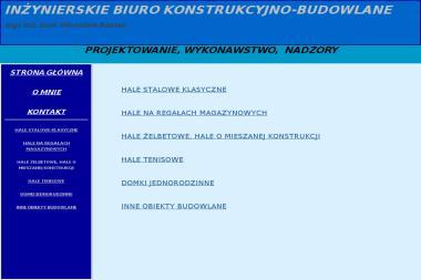 Inżynierskie Biuro Konstrukcyjno Budowlane Mgr Inż Mirosław Basiak - Projekty domów Piastów