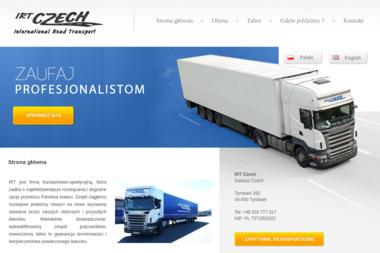 Irt Czech - Transport busem Tymbark