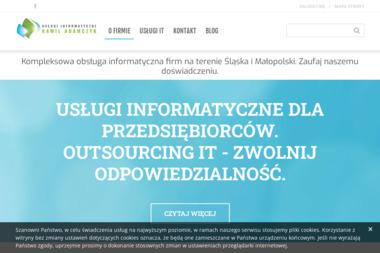 Usługi Informatyczne Kamil Adamczyk - Tworzenie Stron WWW Czeladź