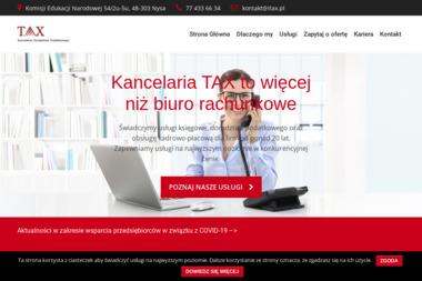 Kancelaria Doradztwa Podatkowego Tax S.C. Halina Suliga Jerzy Suliga - Finanse Nysa