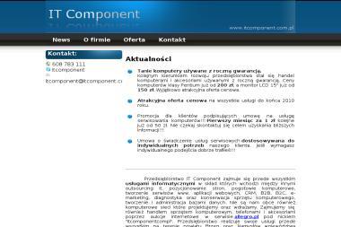 IT Component - Agencja interaktywna Bąkowice