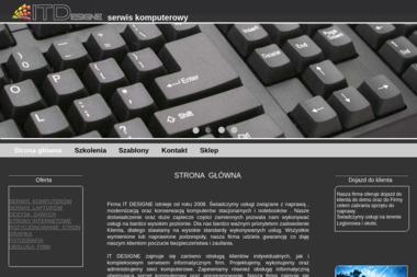 It Designe - Serwis Komputerowy - Pozycjonowanie stron Chotomów