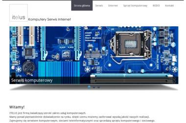 Itelus - Serwis komputerowy - Firmy informatyczne i telekomunikacyjne Katowice