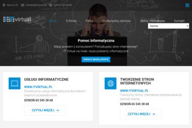 it Virtual. Usługi informatyczne - Strony WWW Rawicz