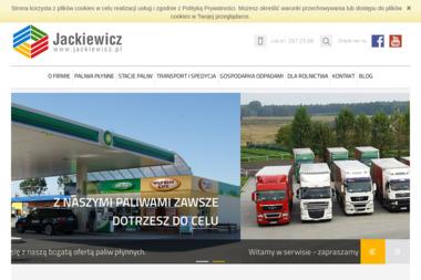 Przedsiębiorstwo Jackiewicz Stacja Paliw Beata Jackiewicz - Skład węgla Świerkówki