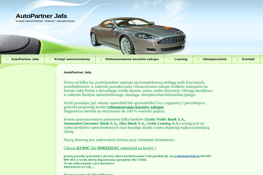 Obrębski Adam Centrum Kredytowe Jafa - Leasing Płock