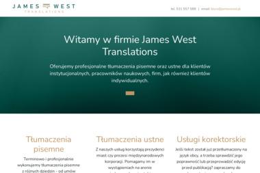 West Translation James West Małgorzata Zaremba West S.C. - Tłumacze Łódź