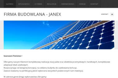 Janex - Konstrukcje Stalowe Kidałowice