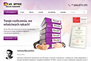 JB Tax Office Usługi Księgowe Justyna Baczyńska. Biuro rachunkowe, podatki, rachunkowość - Finanse Byczyna