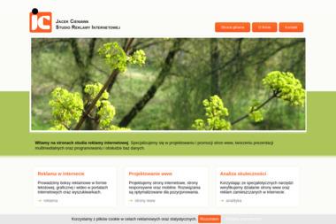 Jacek Cieniawa Studio Reklamy Internetowej - Linki sponsorowane, banery Zabrze