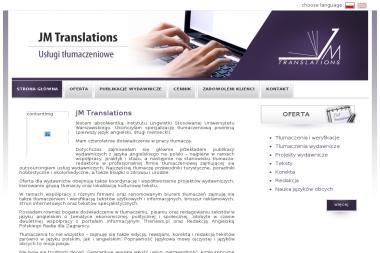 Jm Translations Anna Julia Mamińska - Tłumaczenie Angielsko Polskie Łódź