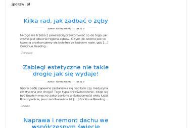 JP Drzwi i Okna Jacek Południak - Stolarka Drewniana Białystok