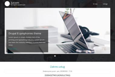 Jucom. Grzegorz Juzwiszyn - Agencja interaktywna Głubczyce