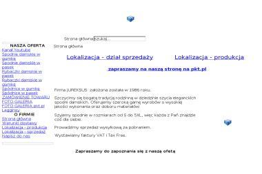Jur Nat Urbanowski Jerzy Krawiectwo Konfekcyjne Wyrób Sprzedaż - Szwalnia Brzóze