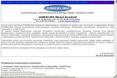 Rowiński Michał Juweklima - Hydraulik Łazy