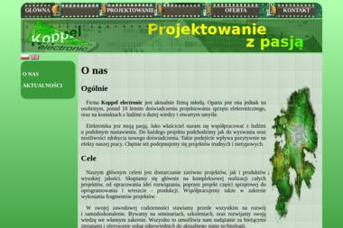 Koppel Electronic Radosław Koppel - Projektant Wnętrz Gliwice